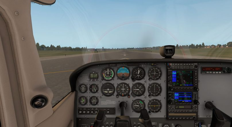 Screenshot from X-Plane 11 Flight Simulator