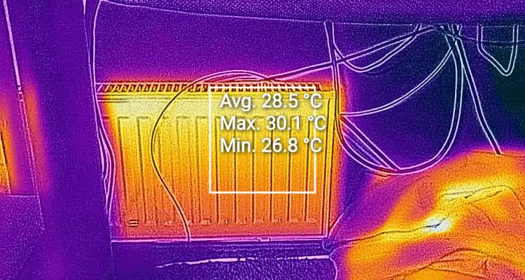 CAT S61 Thermal Image